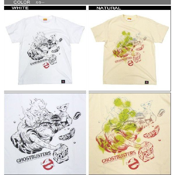 GHOSTBUSTERS 30th OFFICAL Slimer Tシャツ MONSTER MADE ゴーストバスターズ モンスター 妖怪|fatmoes|02
