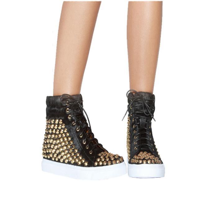 欲しいの ジェフリーキャンベル スタッズ スニーカー Sneaker Alva スニーカー Alva Stud Sneaker, SPIRAL SCRATCH:a95c4175 --- theroofdoctorisin.com