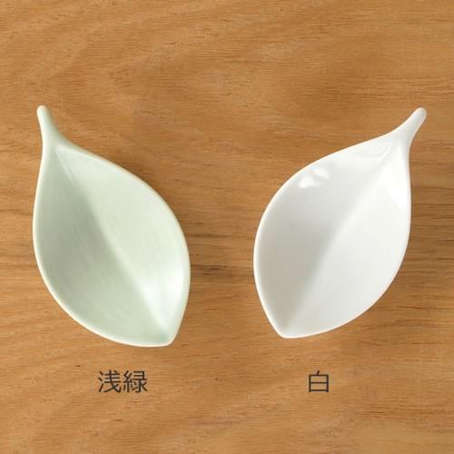 白山陶器 箸置き 木の葉 波佐見焼 HAKUSAN|favoritestyle|03
