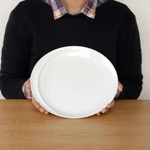 白山陶器 コモ プレート 大 25.5cm 波佐見焼 大皿 COMMO HAKUSAN おしゃれ 青 白 日本製|favoritestyle|06