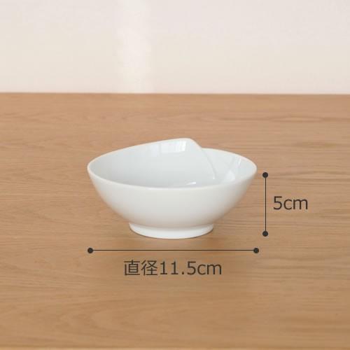 白山陶器 ひとえ 波佐見焼 小付 取り鉢 鉢 小鉢 HITOE 11.5×5cm HAKUSAN 日本製 青 白 favoritestyle 02