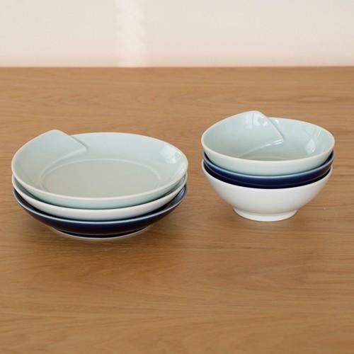 白山陶器 ひとえ 波佐見焼 小付 取り鉢 鉢 小鉢 HITOE 11.5×5cm HAKUSAN 日本製 青 白 favoritestyle 05