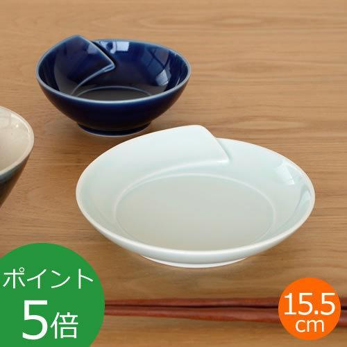 白山陶器 皿 白 青 ひとえ 取皿 波佐見焼 中皿 小皿 HITOE HAKUSAN 日本製|favoritestyle