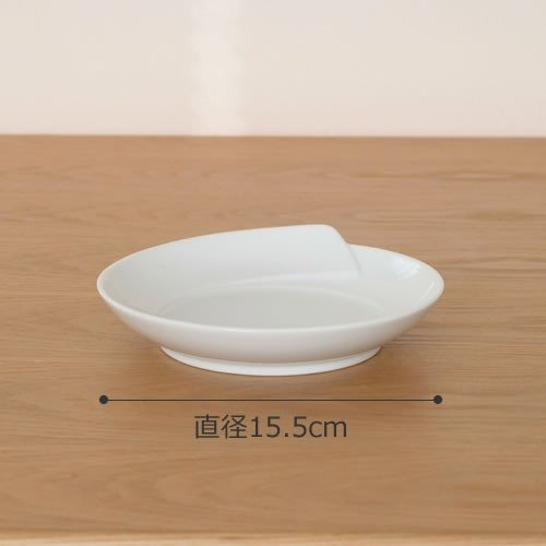 白山陶器 皿 白 青 ひとえ 取皿 波佐見焼 中皿 小皿 HITOE HAKUSAN 日本製|favoritestyle|02