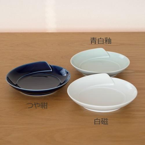 白山陶器 皿 白 青 ひとえ 取皿 波佐見焼 中皿 小皿 HITOE HAKUSAN 日本製|favoritestyle|03