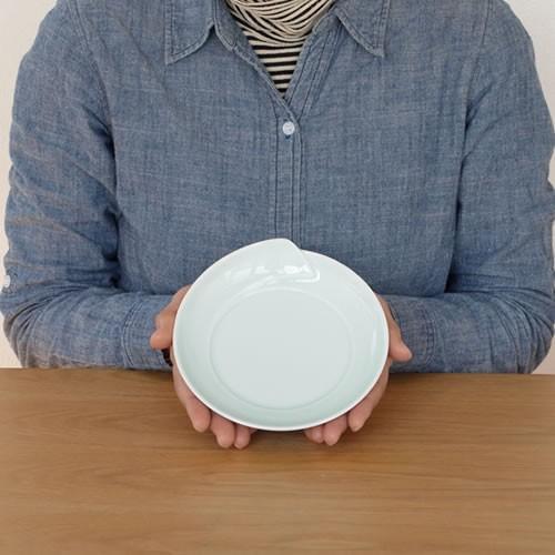 白山陶器 皿 白 青 ひとえ 取皿 波佐見焼 中皿 小皿 HITOE HAKUSAN 日本製|favoritestyle|06