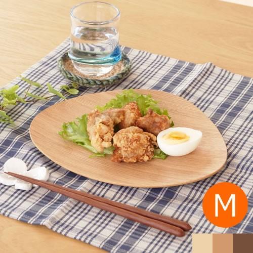 木製 食器 皿 プレート 平皿 取り皿 マロン型 日本製 Natural Plywood Dish Marron M GOLD CRAFT ゴールドクラフト|favoritestyle