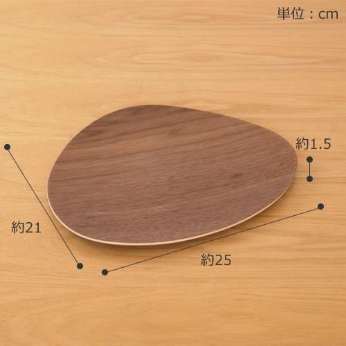 木製 食器 皿 プレート 平皿 取り皿 マロン型 日本製 Natural Plywood Dish Marron M GOLD CRAFT ゴールドクラフト|favoritestyle|02