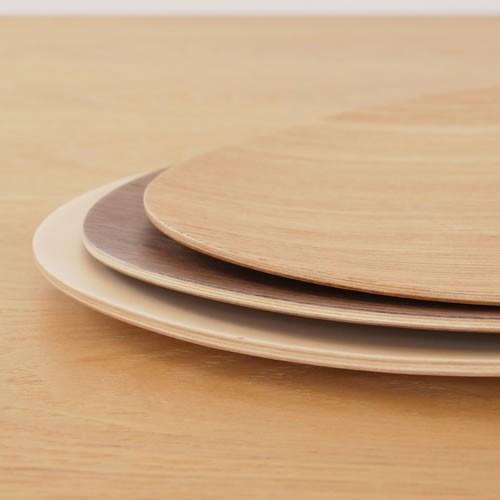 木製 食器 皿 プレート 平皿 取り皿 マロン型 日本製 Natural Plywood Dish Marron M GOLD CRAFT ゴールドクラフト|favoritestyle|05