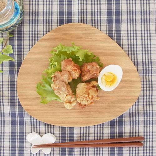 木製 食器 皿 プレート 平皿 取り皿 マロン型 日本製 Natural Plywood Dish Marron M GOLD CRAFT ゴールドクラフト|favoritestyle|06