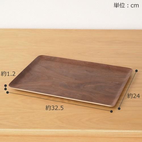 トレー 木製トレー お盆 カフェ 長方形 32.5cm 日本製 おしゃれ ランチョンマット Natural Plywood Tray Recta S ゴールドクラフト favoritestyle 02