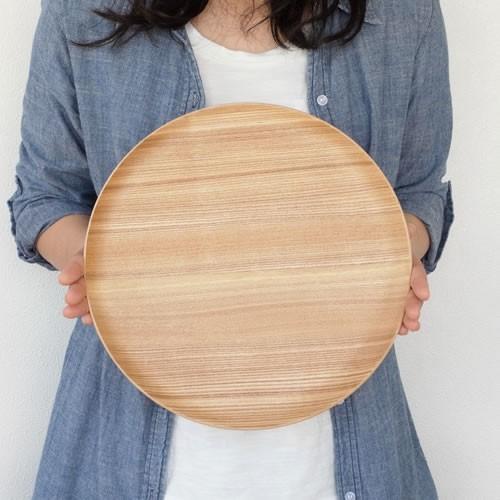 トレー 木製 お盆 丸盆 円形 29.5cm 丸 日本製 カフェトレー Natural Plywood Tray Round S GOLD CRAFT ゴールドクラフト|favoritestyle|07