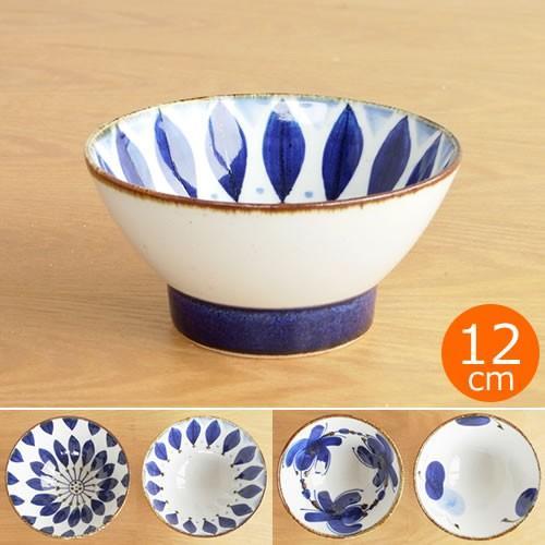 波佐見焼 HASAMI 翔芳窯 藍の器 くらわんか椀 大 茶碗 磁器 職人 手書き 軽量 軽い 薄い 日本製|favoritestyle