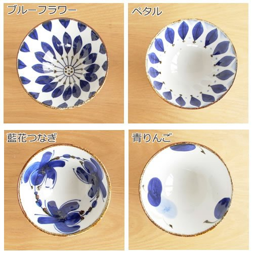 波佐見焼 HASAMI 翔芳窯 藍の器 くらわんか椀 大 茶碗 磁器 職人 手書き 軽量 軽い 薄い 日本製|favoritestyle|03