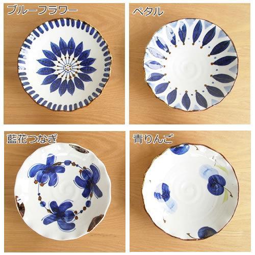 波佐見焼 HASAMI 翔芳窯 藍の器 銘々皿 17.5cm プレート 小皿 取皿 浅皿 陶磁器 職人 手書き 軽量 軽い 薄い 日本製|favoritestyle|03