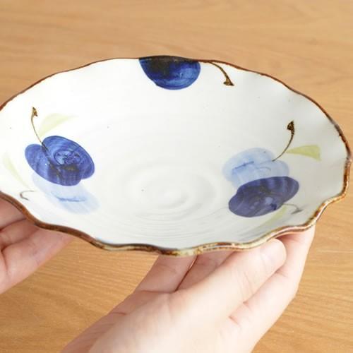 波佐見焼 HASAMI 翔芳窯 藍の器 銘々皿 17.5cm プレート 小皿 取皿 浅皿 陶磁器 職人 手書き 軽量 軽い 薄い 日本製|favoritestyle|04