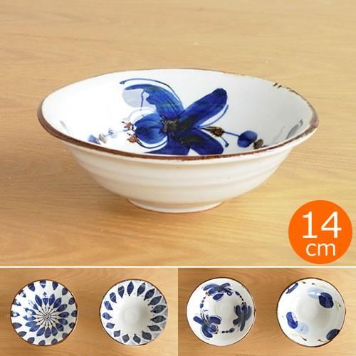 波佐見焼 HASAMI 翔芳窯 藍の器 小鉢 14cm 取鉢 取皿 深皿 ボウル 陶磁器 職人 手書き 軽量 軽い 薄い 日本製|favoritestyle