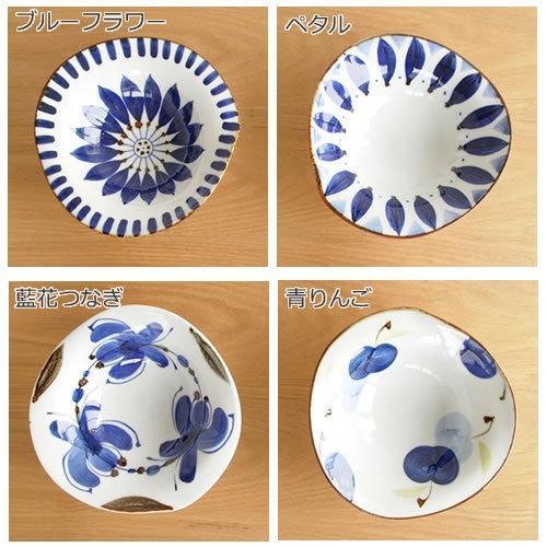 波佐見焼 HASAMI 翔芳窯 藍の器 変形中鉢 16cm 鉢 取鉢 取皿 深皿 ボウル 陶磁器 職人 手書き 軽量 軽い 薄い 日本製|favoritestyle|03