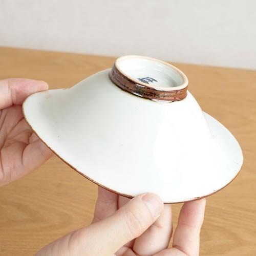 波佐見焼 HASAMI 翔芳窯 藍の器 変形中鉢 16cm 鉢 取鉢 取皿 深皿 ボウル 陶磁器 職人 手書き 軽量 軽い 薄い 日本製|favoritestyle|05