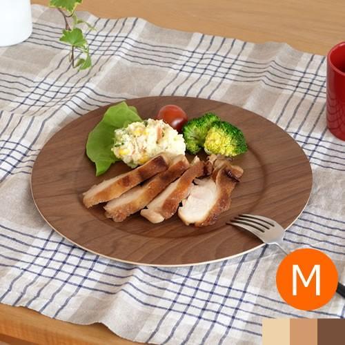 木製 食器 皿 プレート 丸型 円形 日本製 Natural Plywood Plate Wide Rim M GOLD CRAFT ゴールドクラフト|favoritestyle