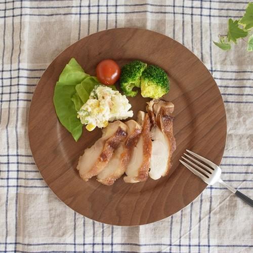 木製 食器 皿 プレート 丸型 円形 日本製 Natural Plywood Plate Wide Rim M GOLD CRAFT ゴールドクラフト|favoritestyle|06