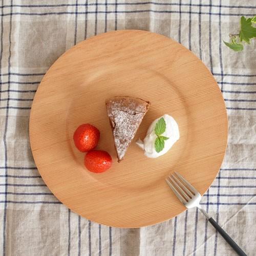 木製 食器 皿 プレート 丸型 円形 日本製 Natural Plywood Plate Wide Rim S GOLD CRAFT ゴールドクラフト|favoritestyle|06