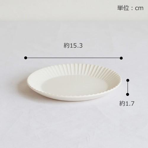 SAKUZAN ストライプ Stripe 丸皿 S 15.3cm プレート 作山窯 美濃焼 食器 取り皿 小皿 浅皿 日本製 和食器 手仕事 うつわ 器 手作り|favoritestyle|02