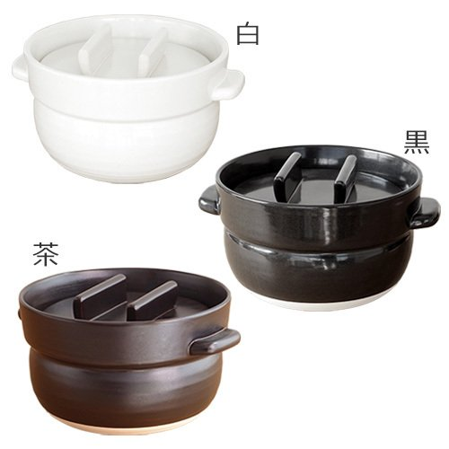 かもしか道具店 ごはんの鍋 3合 日本製 土鍋 萬古焼 ご飯鍋 3合炊き|favoritestyle|05