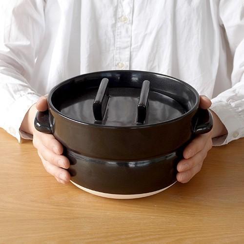 かもしか道具店 ごはんの鍋 3合 日本製 土鍋 萬古焼 ご飯鍋 3合炊き|favoritestyle|07