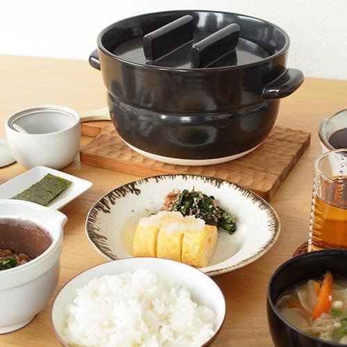 かもしか道具店 ごはんの鍋 3合 日本製 土鍋 萬古焼 ご飯鍋 3合炊き|favoritestyle|10