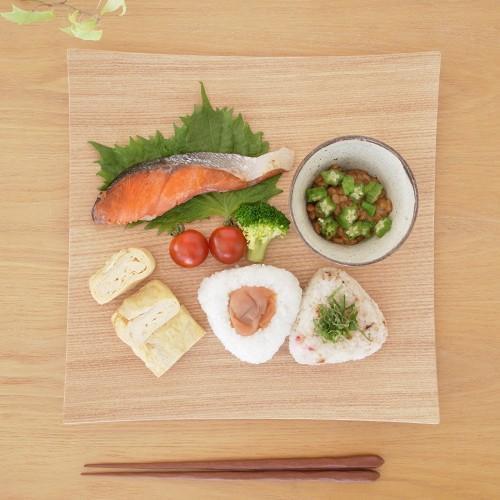 木製食器 皿 プレート 木製 食器 四角 スクエア 正方形 27cm 日本製 Natural Plywood Dish Square L GOLD CRAFT ゴールドクラフト|favoritestyle|02