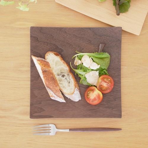 木製食器 皿 プレート 木製 食器 四角 スクエア 正方形 21.5cm 日本製 Natural Plywood Dish Square M GOLD CRAFT ゴールドクラフト|favoritestyle|02