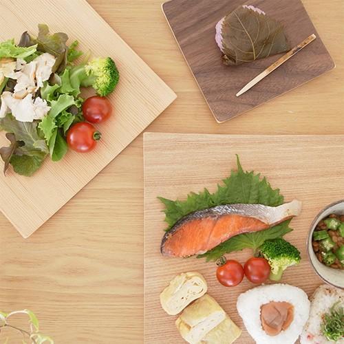 木製食器 皿 プレート 木製 食器 四角 スクエア 正方形 21.5cm 日本製 Natural Plywood Dish Square M GOLD CRAFT ゴールドクラフト|favoritestyle|08