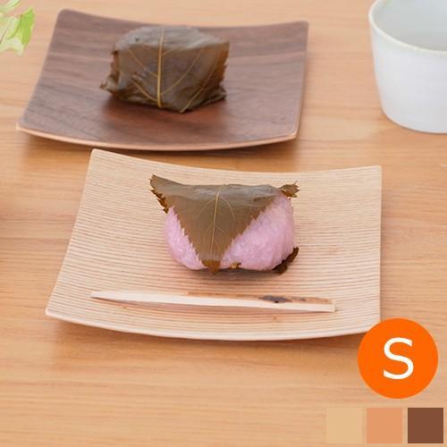 木製食器 皿 プレート 木製 食器 四角 スクエア 正方形 14cm 日本製 Natural Plywood Dish Square S GOLD CRAFT ゴールドクラフト|favoritestyle