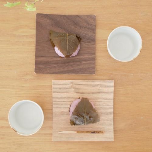 木製食器 皿 プレート 木製 食器 四角 スクエア 正方形 14cm 日本製 Natural Plywood Dish Square S GOLD CRAFT ゴールドクラフト|favoritestyle|02