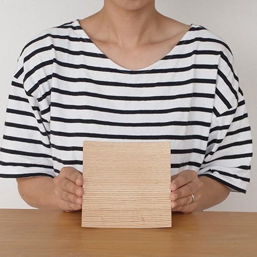 木製食器 皿 プレート 木製 食器 四角 スクエア 正方形 14cm 日本製 Natural Plywood Dish Square S GOLD CRAFT ゴールドクラフト|favoritestyle|07