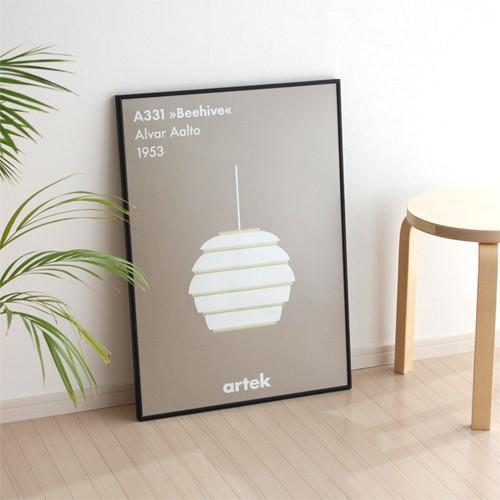 ポスターフレーム 50×70 cm PaperCollective FRAMES ペーパーコレクティブ デンマーク 北欧 フレーム アクリルガラス 額縁 favoritestyle 03