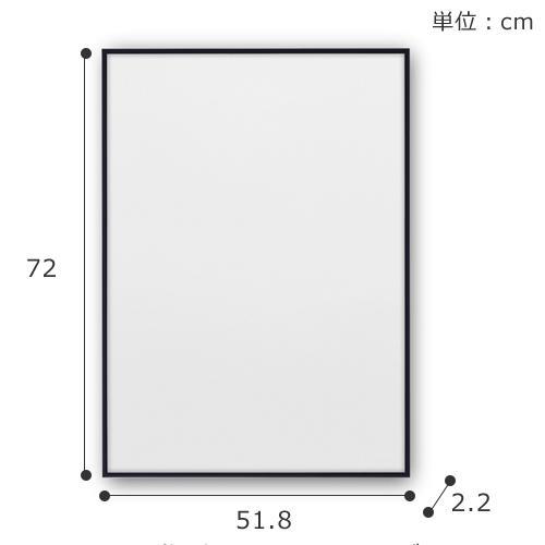 ポスターフレーム 50×70 cm PaperCollective FRAMES ペーパーコレクティブ デンマーク 北欧 フレーム アクリルガラス 額縁 favoritestyle 06
