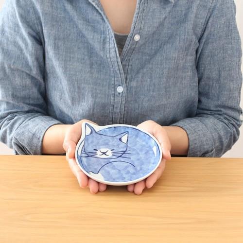 波佐見焼 neco皿 5枚セット 木箱入り とり皿 取り皿 ケーキ皿 猫皿 ねこ皿 磁器 猫 皿 石丸陶芸 日本製|favoritestyle|03