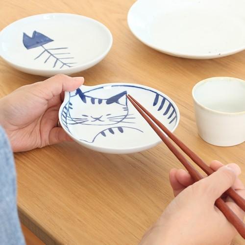 波佐見焼 neco皿 5枚セット 木箱入り とり皿 取り皿 ケーキ皿 猫皿 ねこ皿 磁器 猫 皿 石丸陶芸 日本製|favoritestyle|04