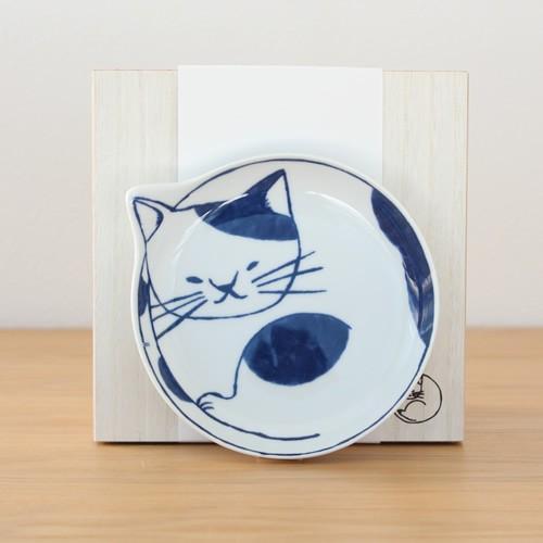 波佐見焼 neco皿 5枚セット 木箱入り とり皿 取り皿 ケーキ皿 猫皿 ねこ皿 磁器 猫 皿 石丸陶芸 日本製|favoritestyle|07