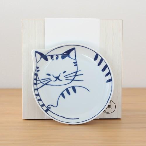 波佐見焼 neco皿 5枚セット 木箱入り とり皿 取り皿 ケーキ皿 猫皿 ねこ皿 磁器 猫 皿 石丸陶芸 日本製|favoritestyle|08
