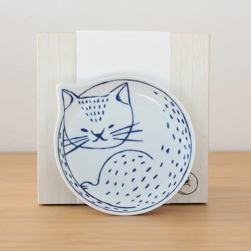 波佐見焼 neco皿 5枚セット 木箱入り とり皿 取り皿 ケーキ皿 猫皿 ねこ皿 磁器 猫 皿 石丸陶芸 日本製|favoritestyle|09