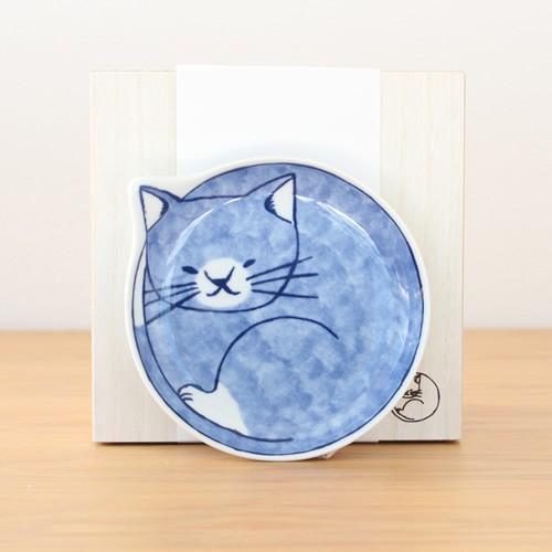 波佐見焼 neco皿 5枚セット 木箱入り とり皿 取り皿 ケーキ皿 猫皿 ねこ皿 磁器 猫 皿 石丸陶芸 日本製|favoritestyle|10