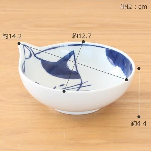 波佐見焼 neco鉢 4枚セット 木箱入り 小鉢 取り鉢 取り皿 ボウル 猫鉢 ねこ鉢 猫 磁器 石丸陶芸 日本製|favoritestyle|02