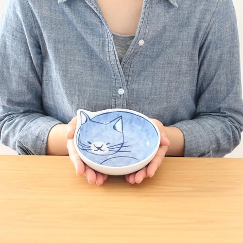 波佐見焼 neco鉢 4枚セット 木箱入り 小鉢 取り鉢 取り皿 ボウル 猫鉢 ねこ鉢 猫 磁器 石丸陶芸 日本製|favoritestyle|03