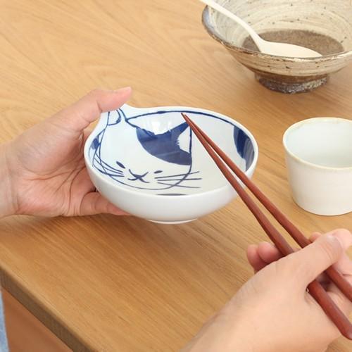 波佐見焼 neco鉢 4枚セット 木箱入り 小鉢 取り鉢 取り皿 ボウル 猫鉢 ねこ鉢 猫 磁器 石丸陶芸 日本製|favoritestyle|04