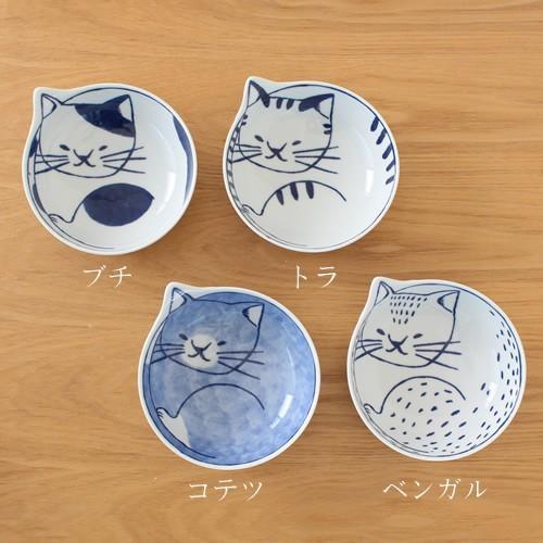 波佐見焼 neco鉢 4枚セット 木箱入り 小鉢 取り鉢 取り皿 ボウル 猫鉢 ねこ鉢 猫 磁器 石丸陶芸 日本製|favoritestyle|05