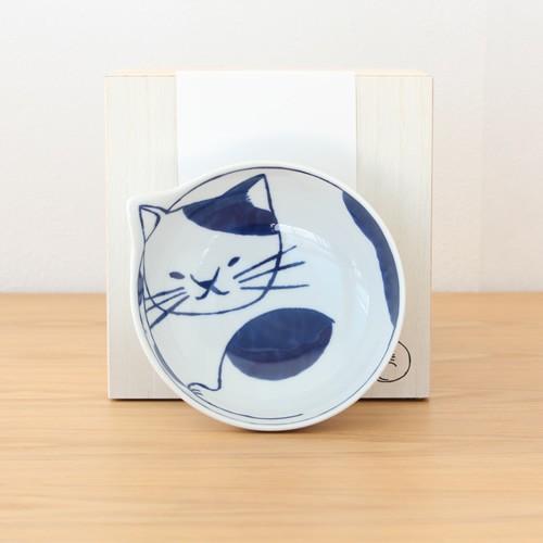 波佐見焼 neco鉢 4枚セット 木箱入り 小鉢 取り鉢 取り皿 ボウル 猫鉢 ねこ鉢 猫 磁器 石丸陶芸 日本製|favoritestyle|07