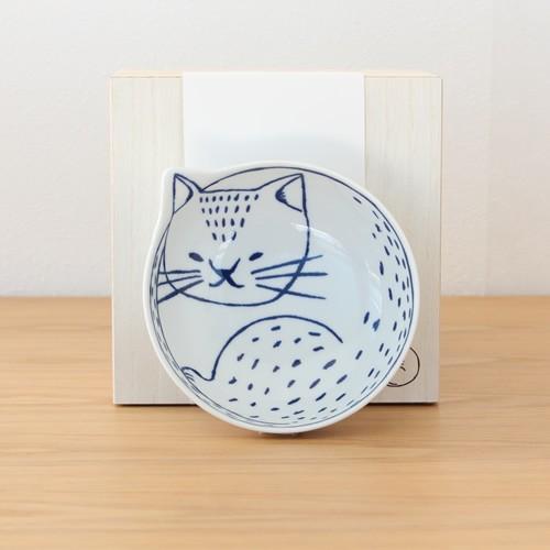 波佐見焼 neco鉢 4枚セット 木箱入り 小鉢 取り鉢 取り皿 ボウル 猫鉢 ねこ鉢 猫 磁器 石丸陶芸 日本製|favoritestyle|10